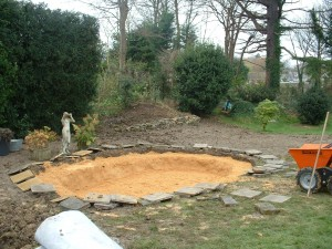 isle of wight pond building