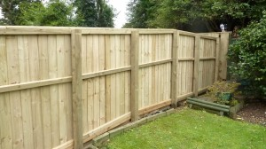 feather edge fencing isle of wight