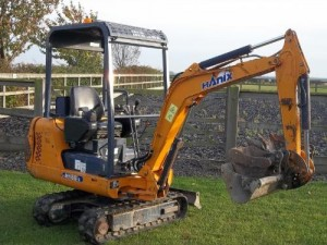 Mini Digger Hire isle of Wight