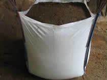 iow 1 ton bulk bags of top screened top soil