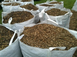 wood chippings isle of wight