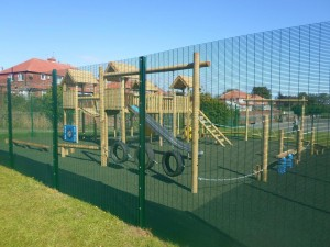 School Play Grounds Fencing And Landscaping Isle Of Wight