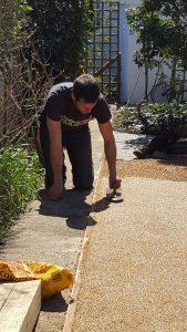 resin paths