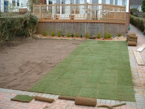 Isle of wight Turfing and Turf Laying