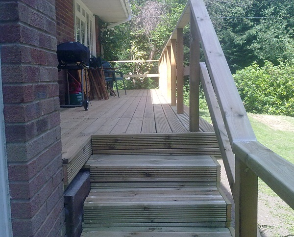 decking and deck builders isle of wight