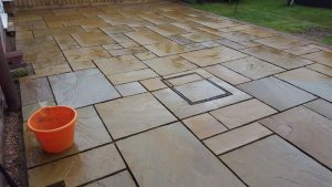 Indian Sand stone Patios Isle of Wight