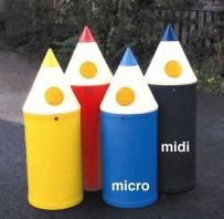 4 pencils bin