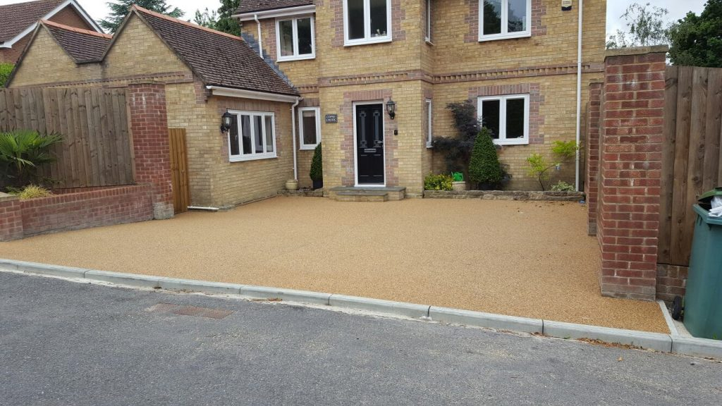 resin bound drive way