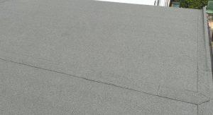 torch felt flat roof